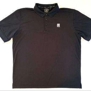 OGIO PCG Men's Black Short Sleeve Polo Shirt XL